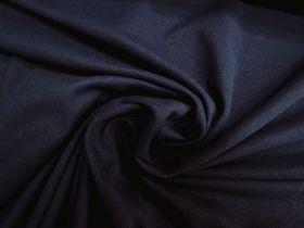 Cotton Blend Pique Knit- Royal Navy #5745