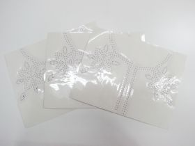 Studded Embellishment Motif Bundle- Neckline- 3 for $5