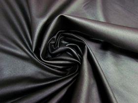 Wet Look Bengaline- Black #5755