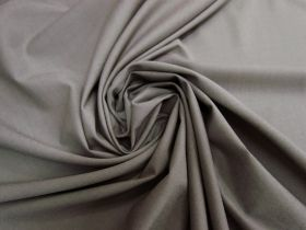 Wool Cotton Blend Suiting- Thunder Grey #5759