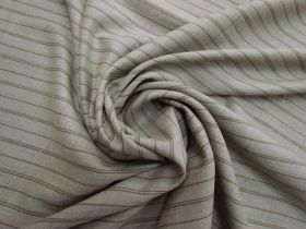 Track Stripe Stretch Wool Suiting #5762