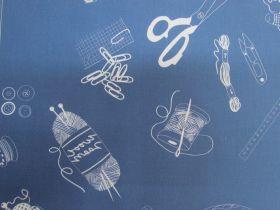 Make Something Cotton- DV3865- Navy