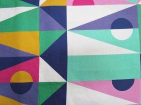274cm Wide- Geo Quilt Backs- DV3601