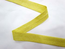 A Day In The Country Bias- Crosshatch Check- Lime Yellow