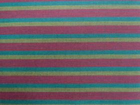 Lanna Woven Cotton- Night Thinker Shot Stripe