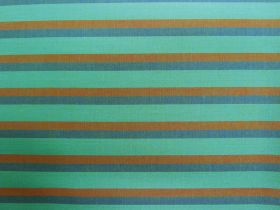 Lanna Woven Cotton- Around The Bay Shot Stripe