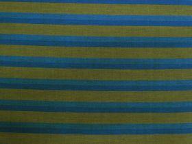Lanna Woven Cotton- Golden Mtn Climb Shot Stripe