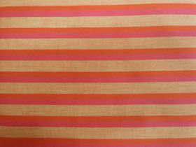 Lanna Woven Cotton- Courage Shot Stripe