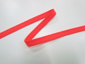 12mm Fluro Elastic- Pink