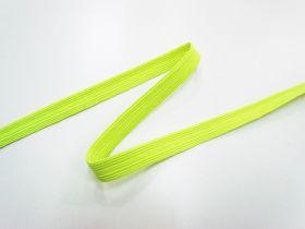 12mm Fluro Elastic- Yellow