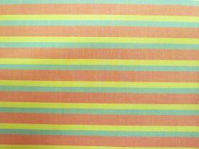Lanna Woven Cotton- Where Ever You Travel Shot Stripe