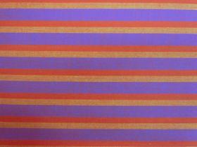 Lanna Woven Cotton- Boho Spirited Shot Stripe