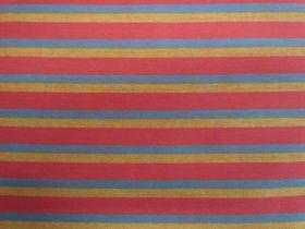 Lanna Woven Cotton- Spice My Life Shot Stripe