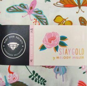 Ruby Star Society- Stay Gold Charm Pack