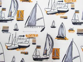 Yacht Club Cotton- Cream