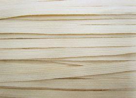 12mm Braided Wool Tape- Natural Cream #031