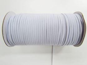 Roll of 3mm Braided Elastic- White #1006F