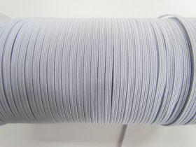 3mm Braided Elastic- White #1004M