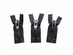 Zipper Bundle- Super Chunky Open End- 8cm Black- 3 for $5