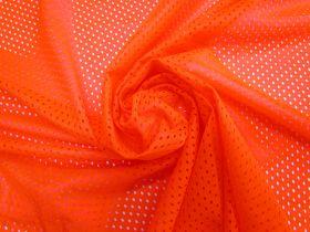 Basketball Mesh- Fluro Orange #4333