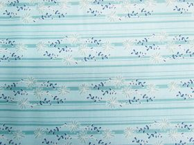 Daisy Days Cotton #C6284-BLUE