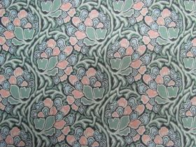 Liberty Cotton- Dianthus Dreams- Green- 04775649Y- The Hesketh House Collection