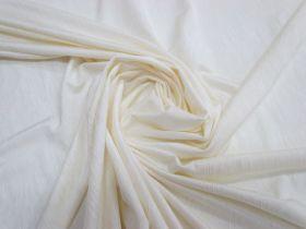 Textured Jersey Spandex- Vanilla Yoghurt #2166
