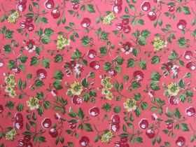 Liberty Cotton- Wild Cherry- 04775627X- The Orchard Garden Collection