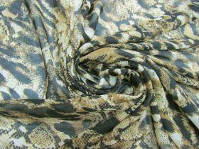 Snakeskin Chiffon- Honey #5783