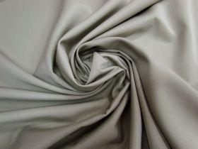 Cotton Blend Gaberdine- Etching Grey #5786