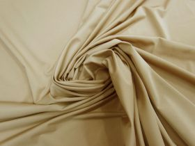 2-Way Stretch Recycled Polyester Lining- Honey Beige #5798