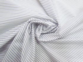 Thin Stripe Cotton Blend- Purple #5807