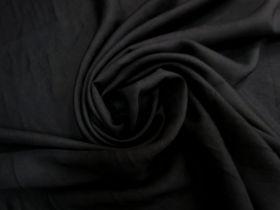 Textured Woven Viscose- Black #5816