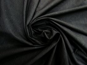 Embroidered Cotton Blend- Shadow Black #5812