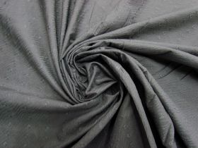 Embroidered Cotton Blend- Smoke Grey #5811