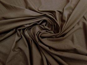 Textured Viscose Jersey- Wood Brown #5824
