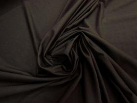 Textured Viscose Jersey- Dark Cocoa #5826