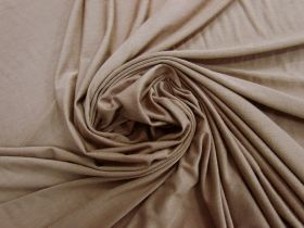 Soft Viscose Jersey- Cosy Brown #5827