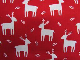 Festive Reindeer Cotton #PW1098