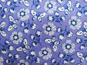 Butterfly Garden Cotton- Purple #PW1073