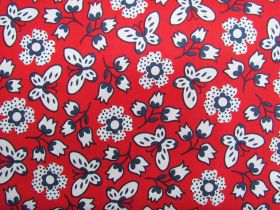 Butterfly Garden Cotton- Red #PW1074