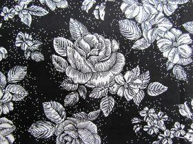 Midnight Rose Cotton #PW1076