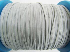 3mm Braided Elastic- Cool Grey #1017M