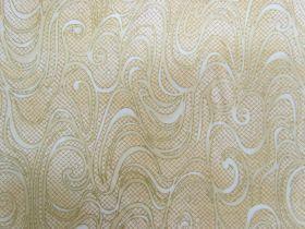 Metallic Mist Cotton- Gold D#8614