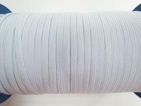 5mm Braided Elastic- Grey White #1024M
