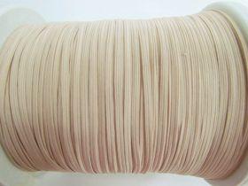 3mm Braided Elastic- Nude Peach #1026M