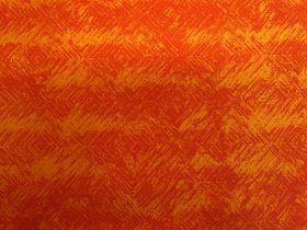 Brushstrokes- Lava Orange #1083-49