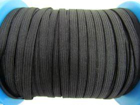 150m Roll of 6mm Braided Elastic- Black #1027F