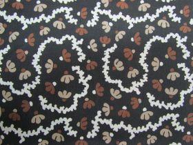 Choco Flower Cotton #5868