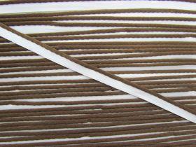 Bias Piping Trim- Top Deck Chocolate #098